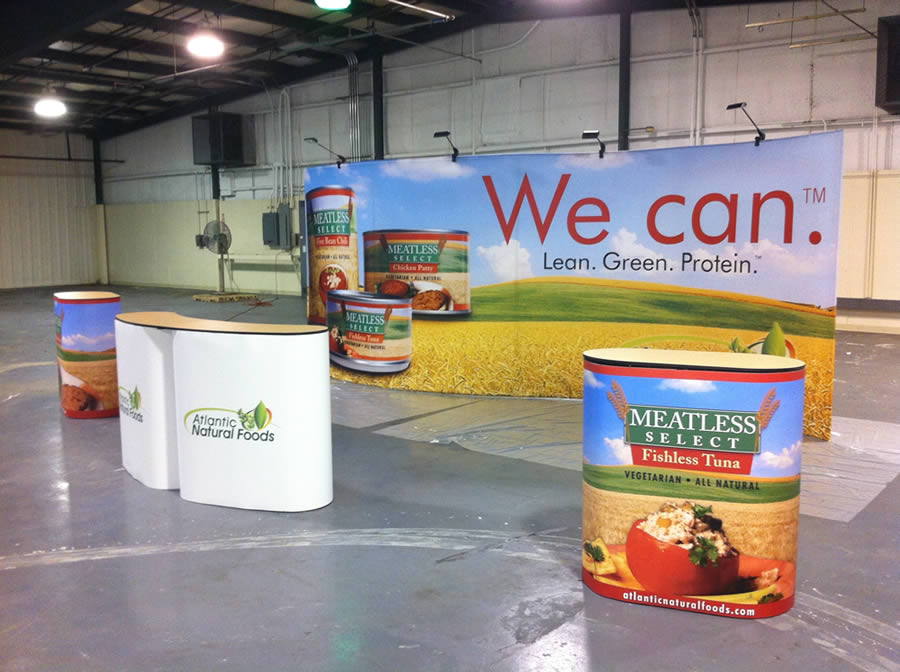 Tradeshow Display: Atlantic Foods