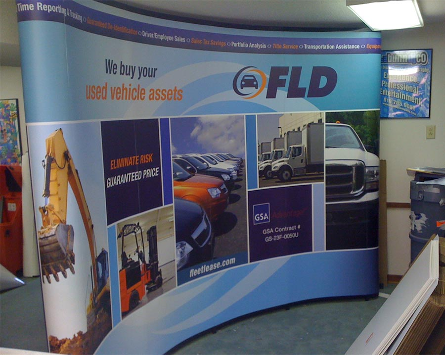 10 Foot Tradeshow Display for Cherokee Pub