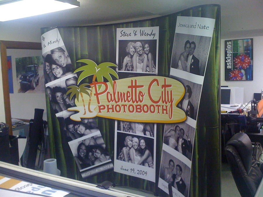 10 Foot Back Wall for Palmetto City