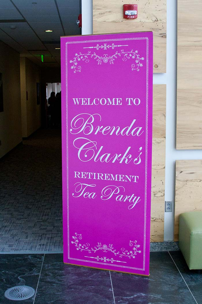 Clark Retirement Party Banner