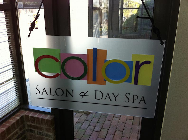 3D Letters for Color Day Spa