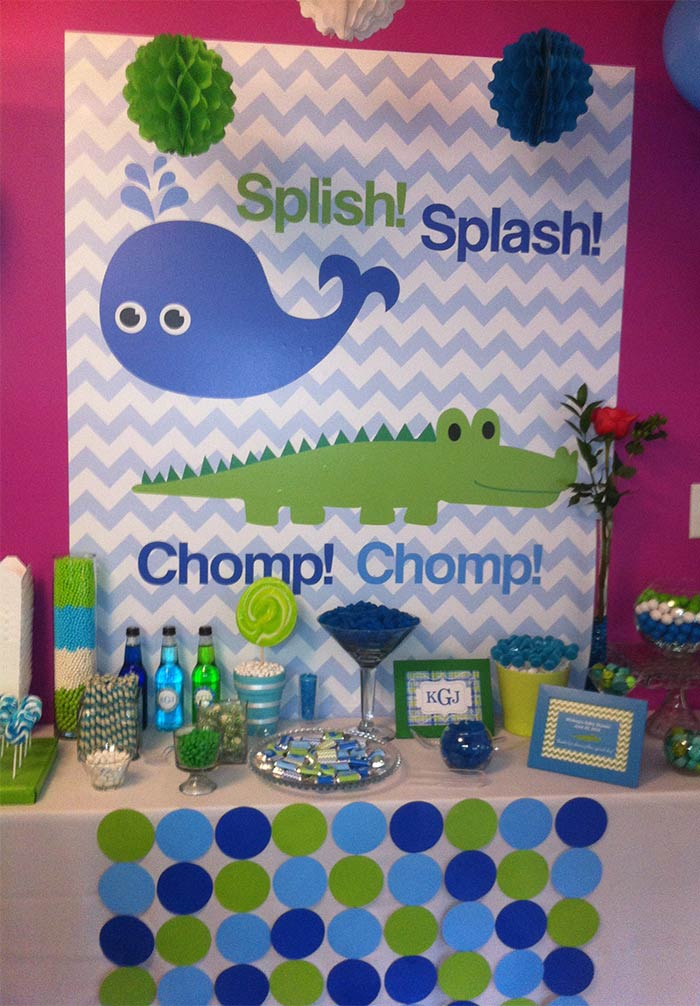 Baby Shower Wall Wrap