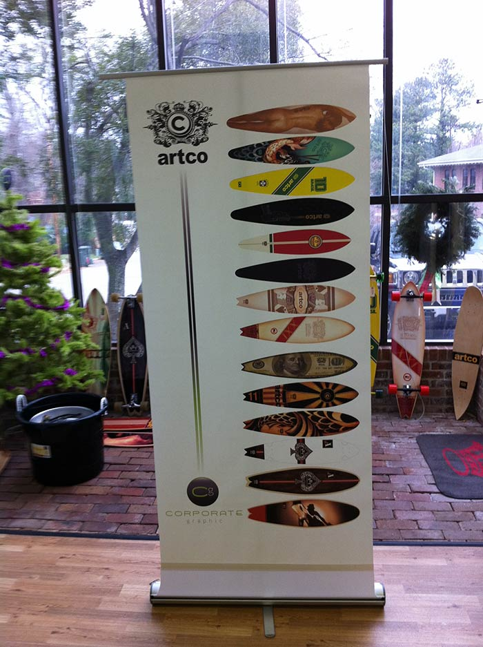 Banner Stand Artco