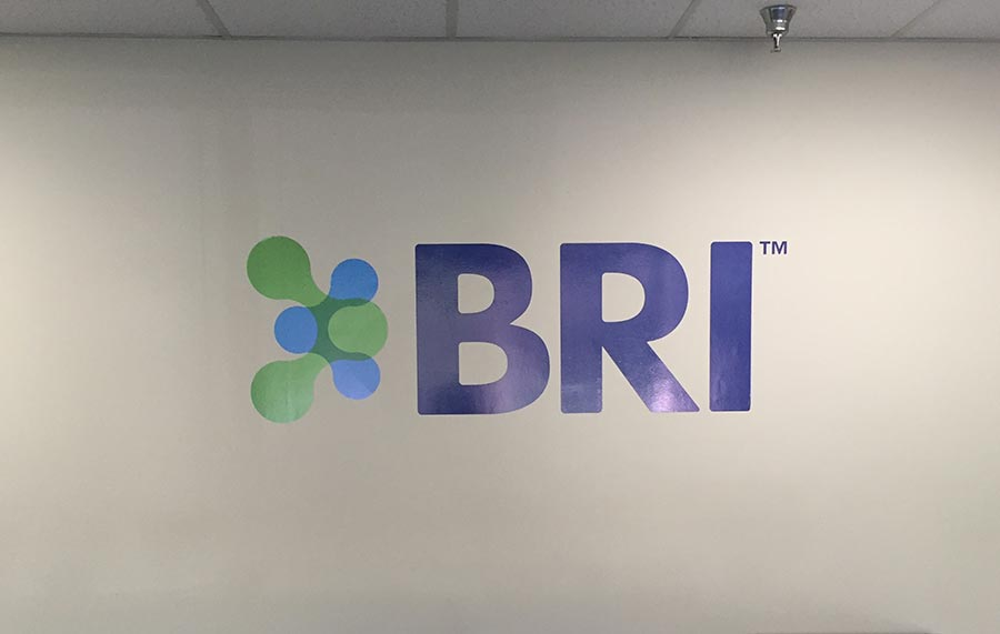 BRI Wall Logo