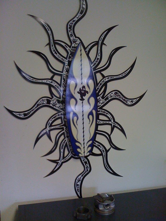 CNC Plexi Art Design