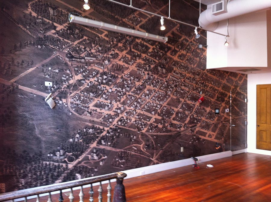 COR Museum Big Wall Wrap