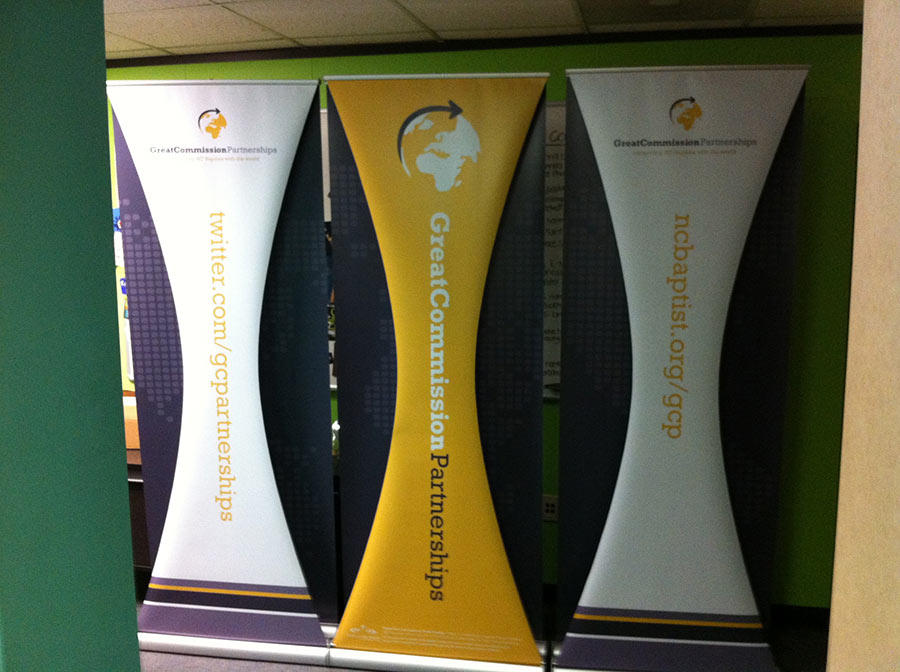 Custom Banner Stand Baptist Convention