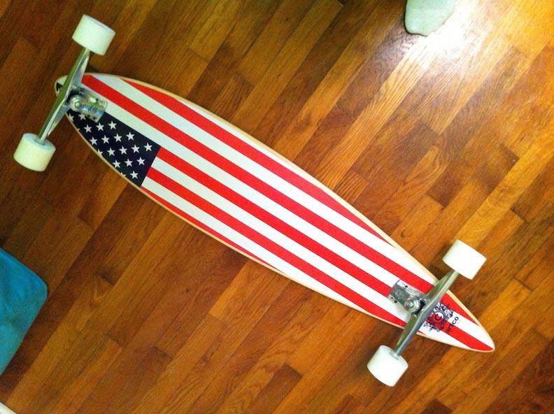 Custom Skateboard Print