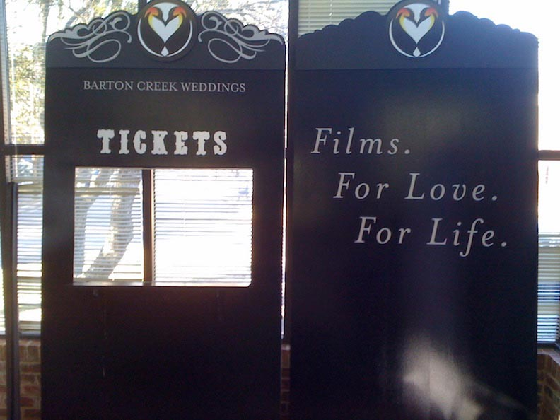 Custom Ticket Booth Heartstone Films
