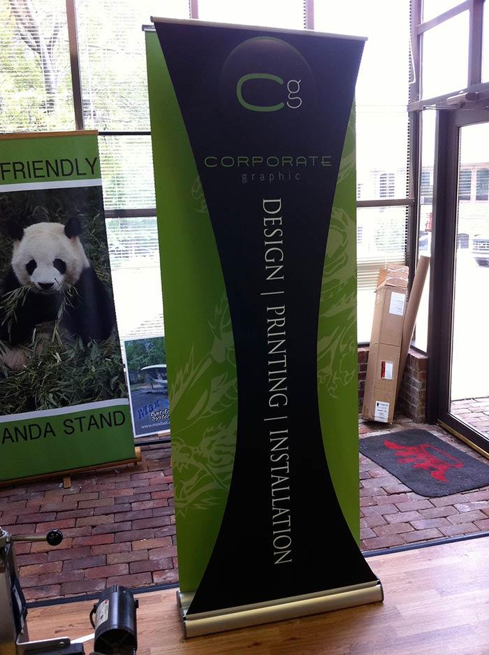 CG Custom Banner Stand