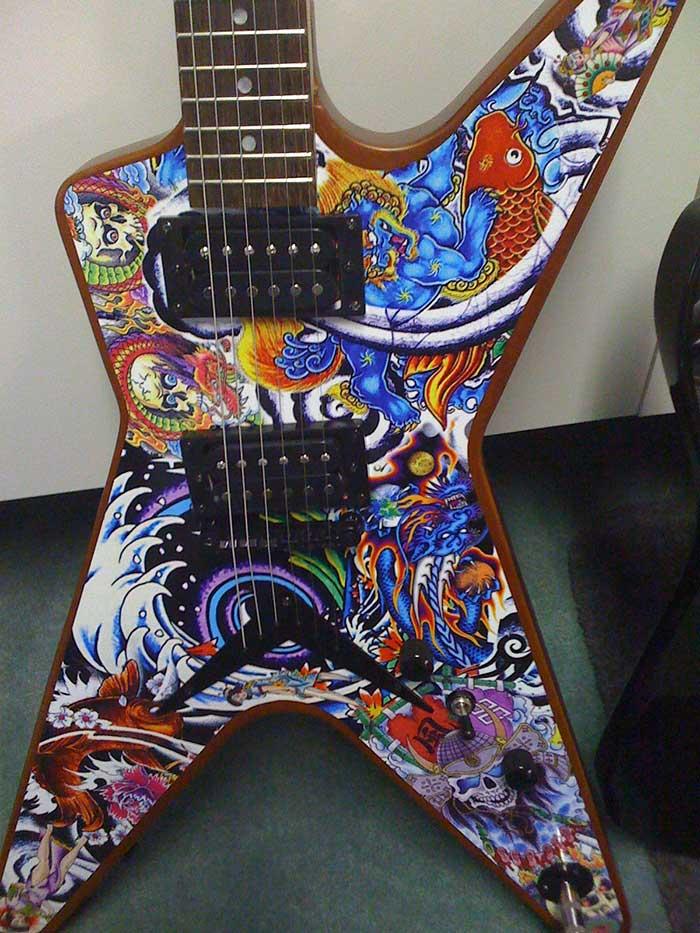 Custom Guitar Wrap