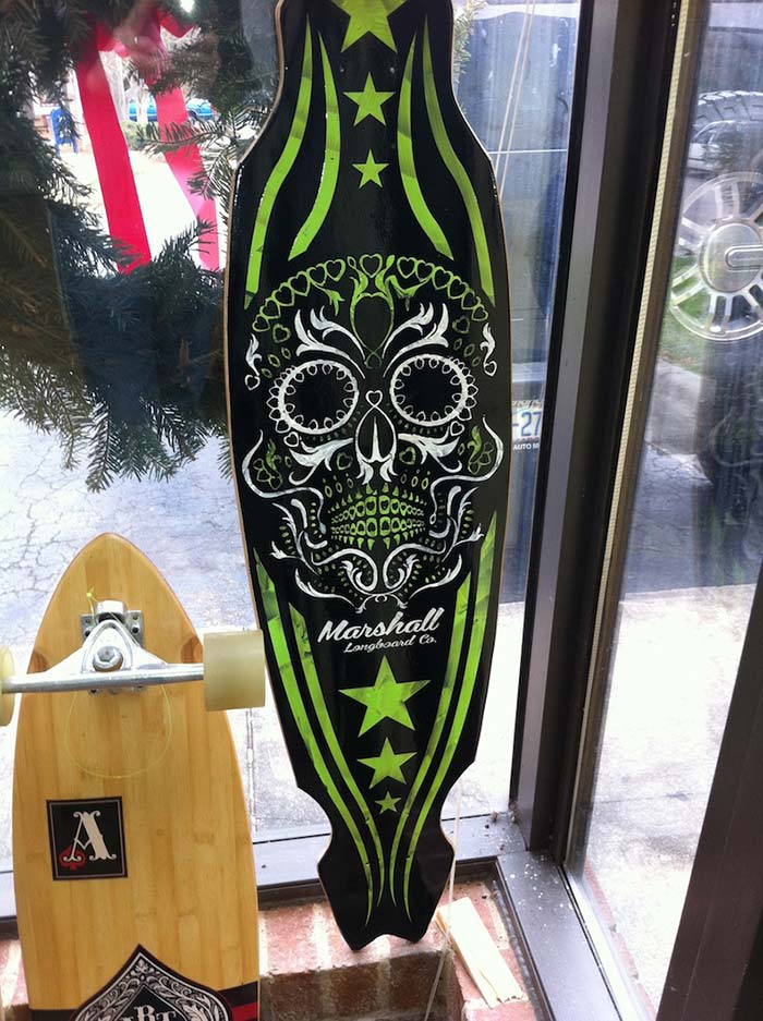 Custom Skateboard Hand-Painted