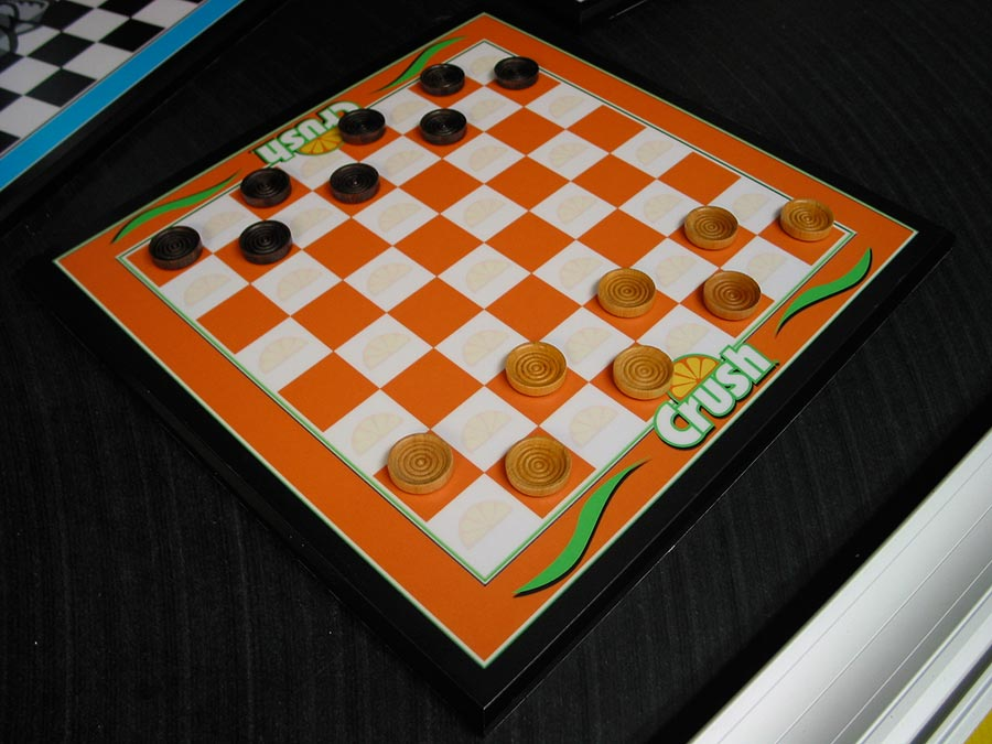 Custom Chess Board Design