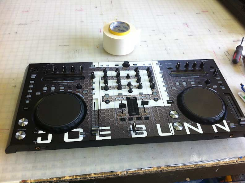 DJ Joe Bunn Controller Design & Install