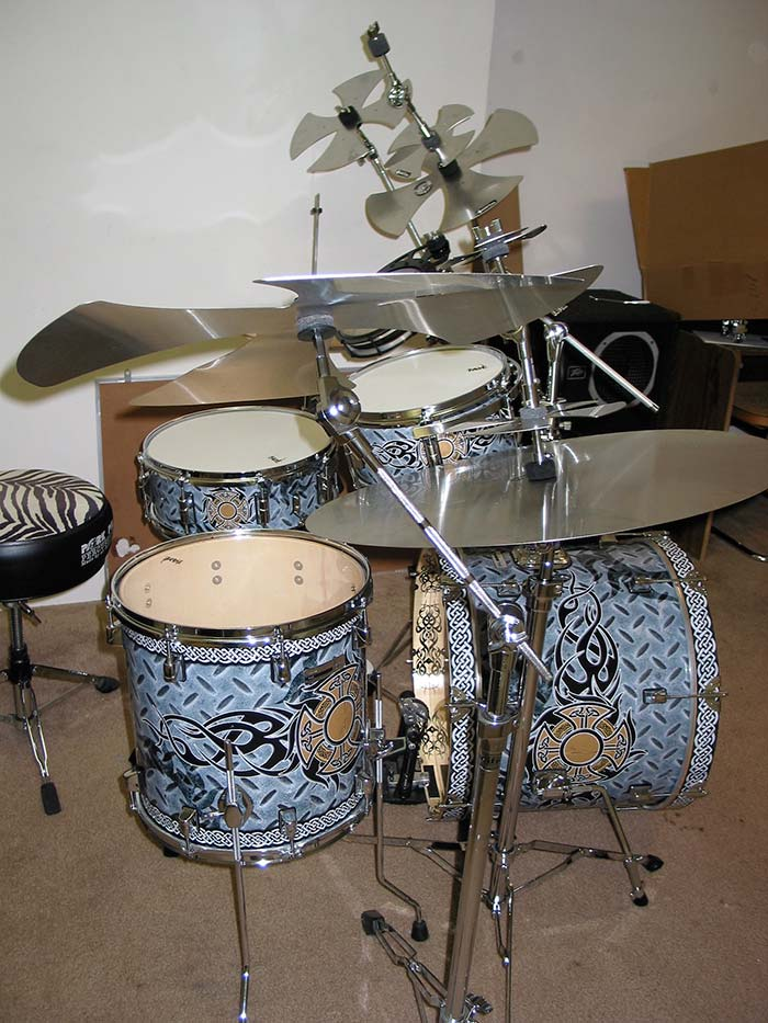 Progressive Music Drum Wrap
