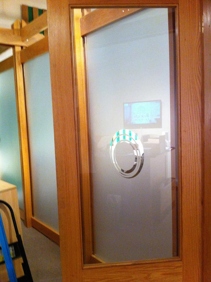 Frosted Glass Cormusium Print & Install