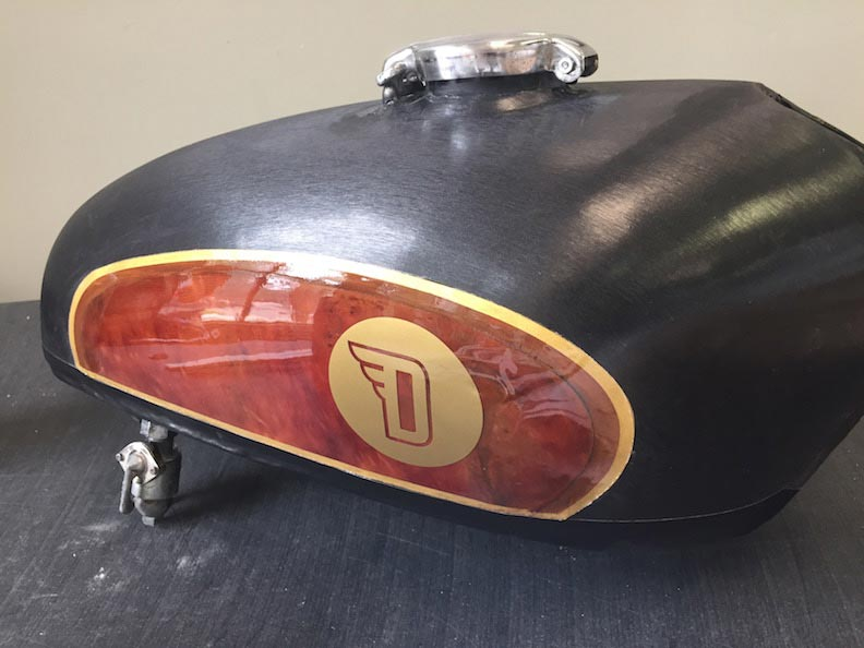Gas Tank Devolve Moto