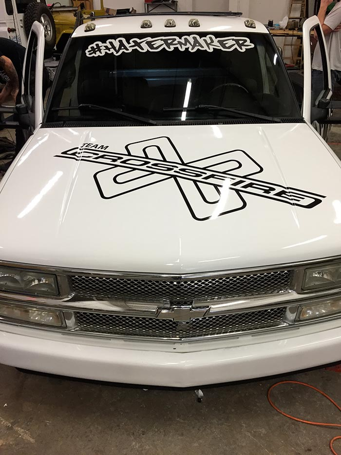 Hood Wrap for Carolina Off-road Outfitters