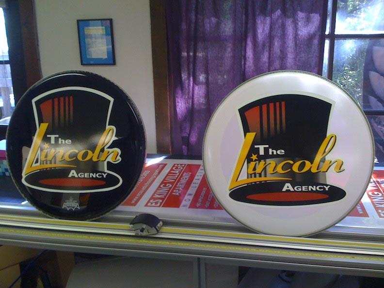 Lincoln Theatre Drum Head