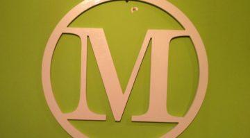 M Wood Monogram