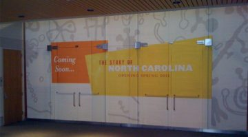 NC History Museum Wall Wrap