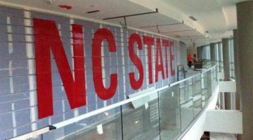 NC State Stencil Install