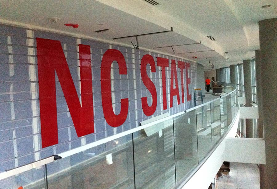 NC State Stencil Install
