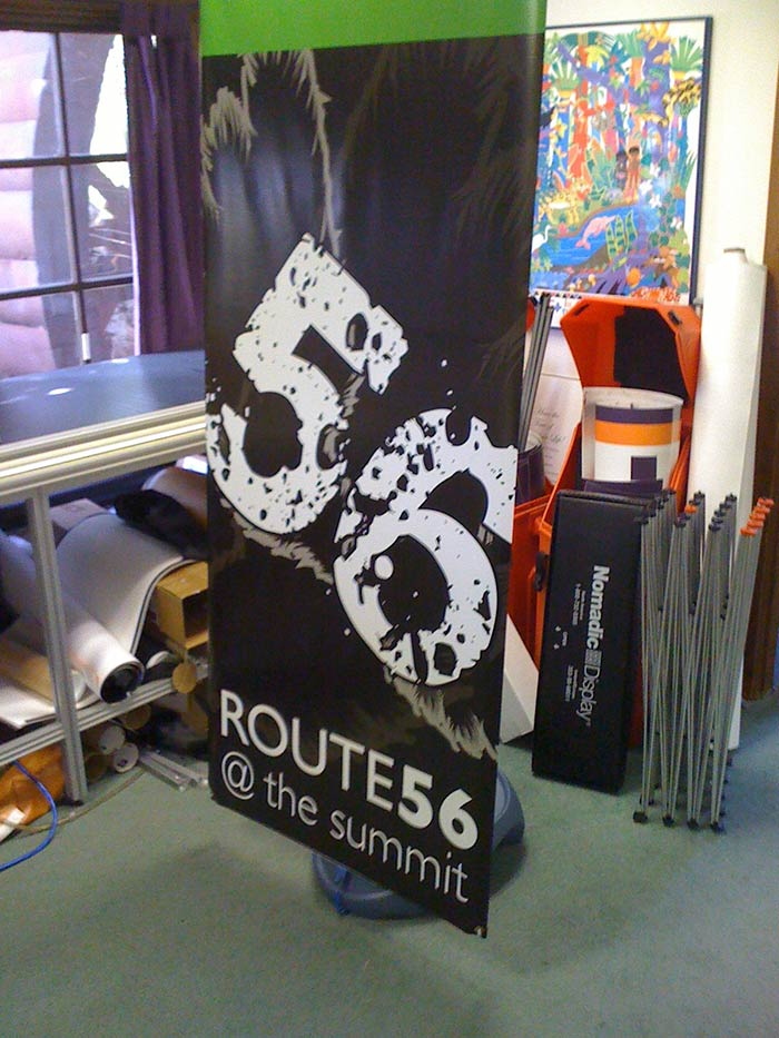 Outdoor Banner The Summit