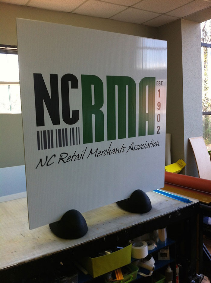 Outdoor Corex Stand NCRMA Print