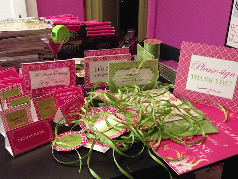 Party Time Tags and Wrappers