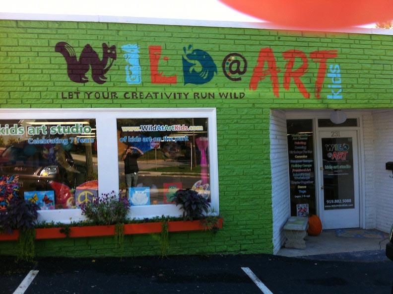 Print Vinyl Wild At Art Print & Install