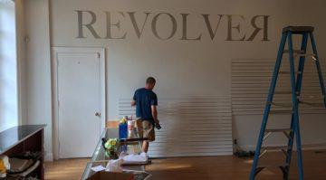 Revolver Wall Logo