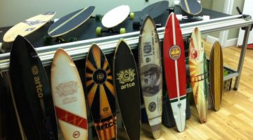 Skateboard Graphics Artco Print