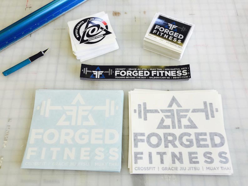 Sticker Packet Forged Fitness
