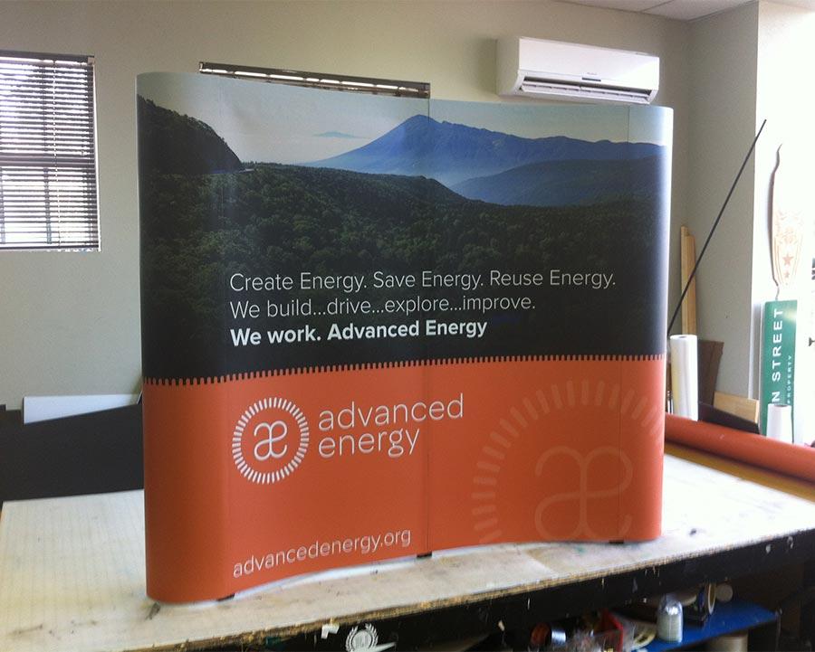 Table Top Display Advance Energy