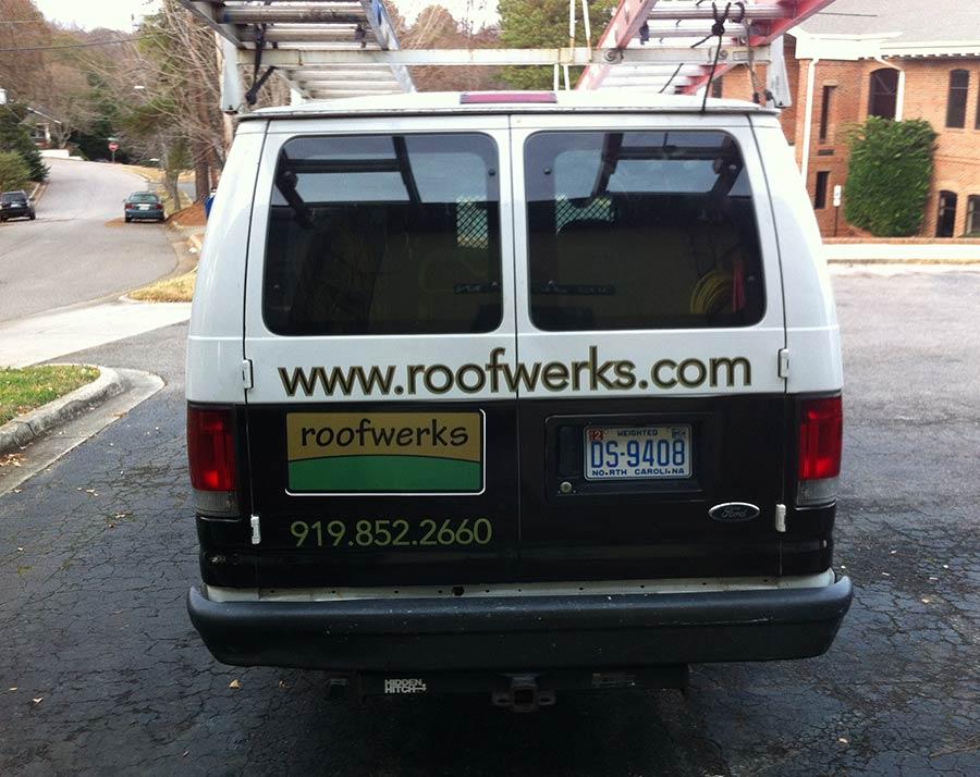 Van Wrap Roofwerks