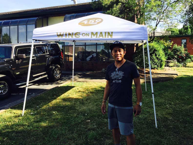Wine on Main Tent