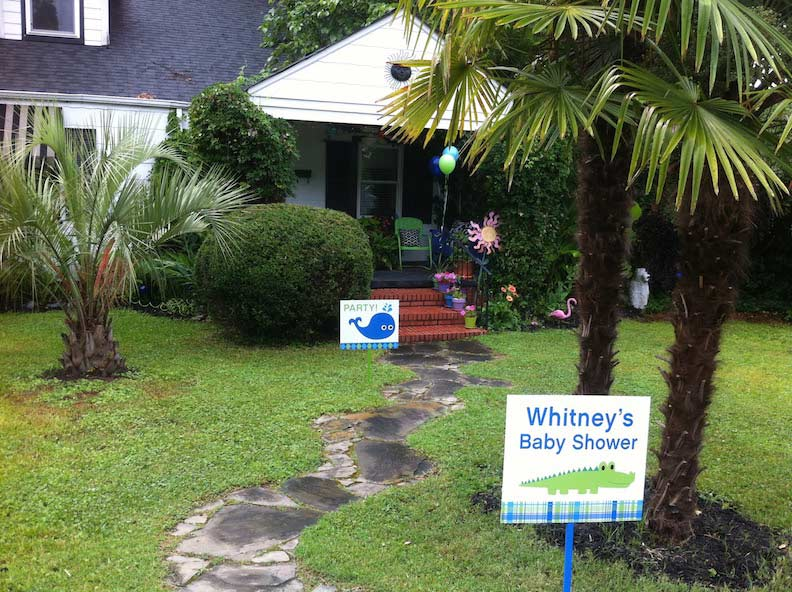 Yard Signs Baby Shower Design, Print & Install