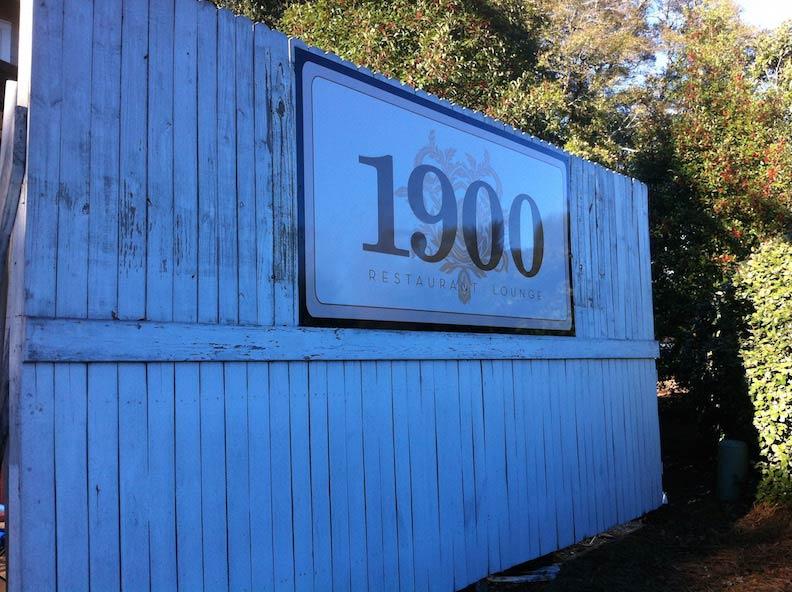 Aluminum Sign 1900 Print & Install
