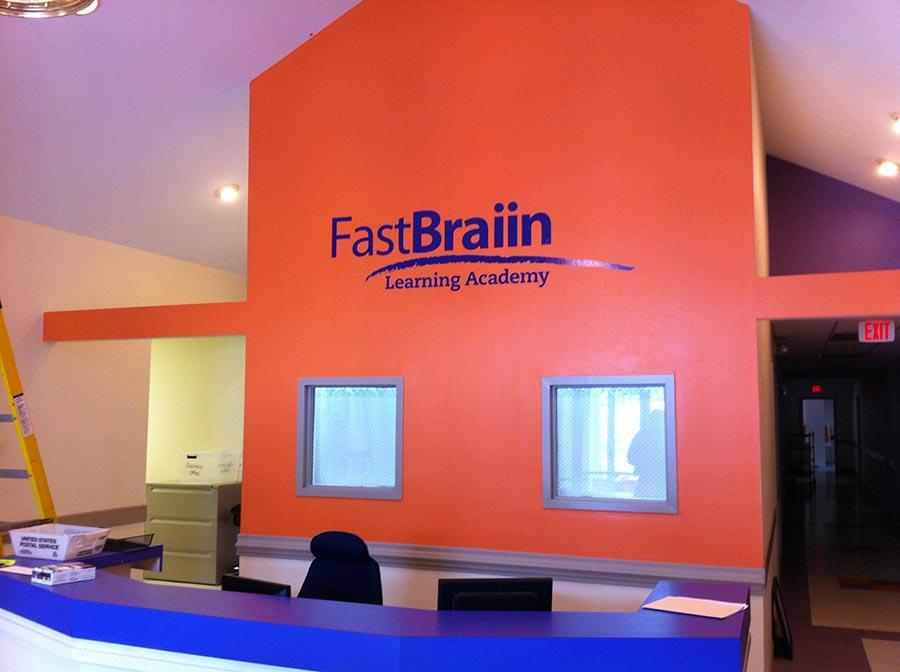 Fastbrain Wall Logo