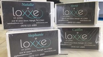 Loxxeon Jones Business Cards