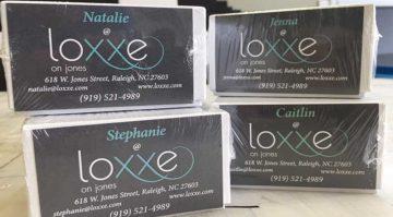 Loxxeon Jones Business Cards