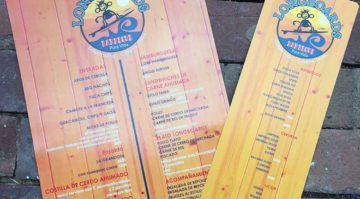 Longboards BBQ Menu