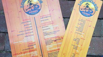 Longboards BBQ Menu
